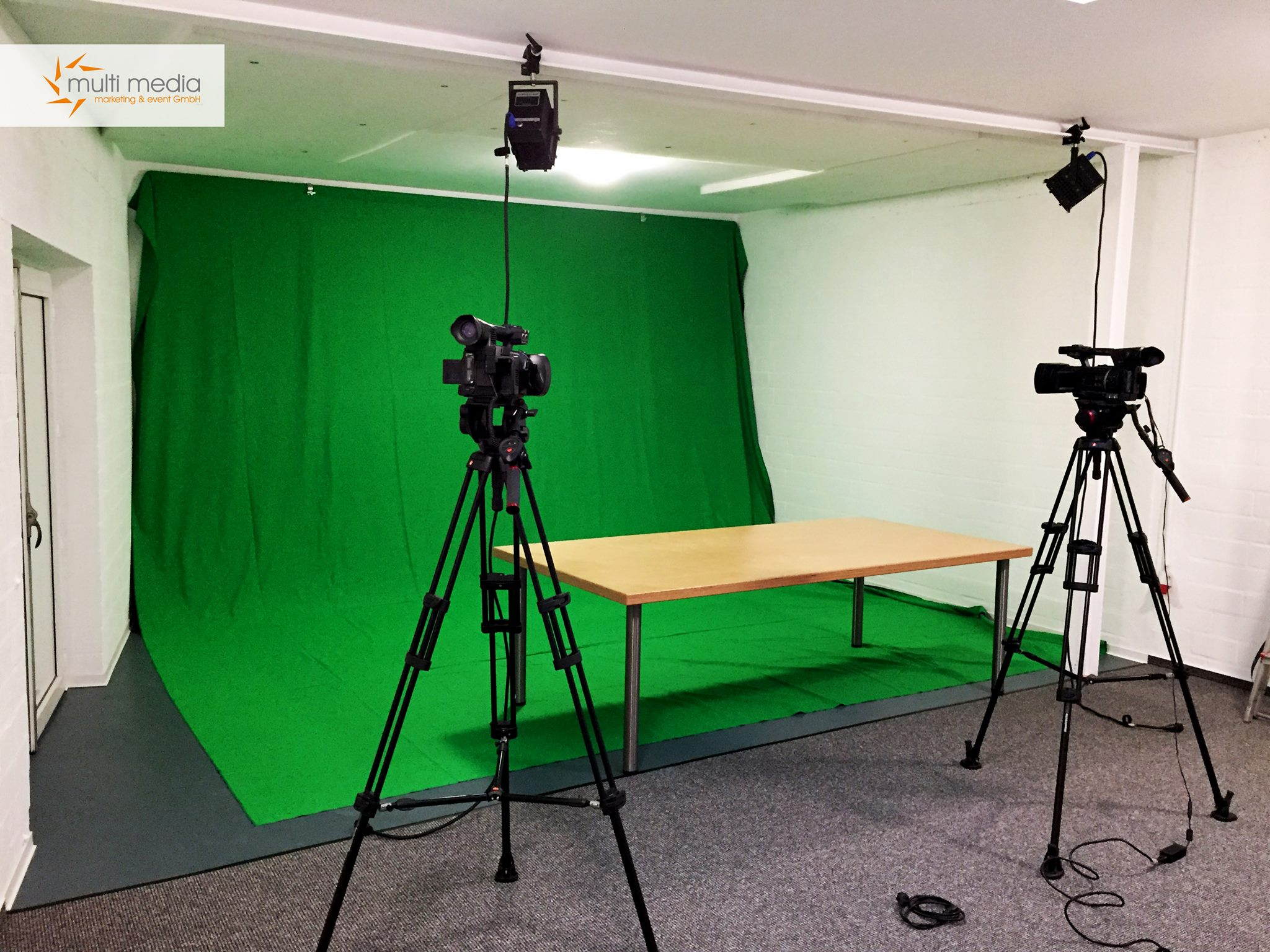 Greenscreen TV-Studio