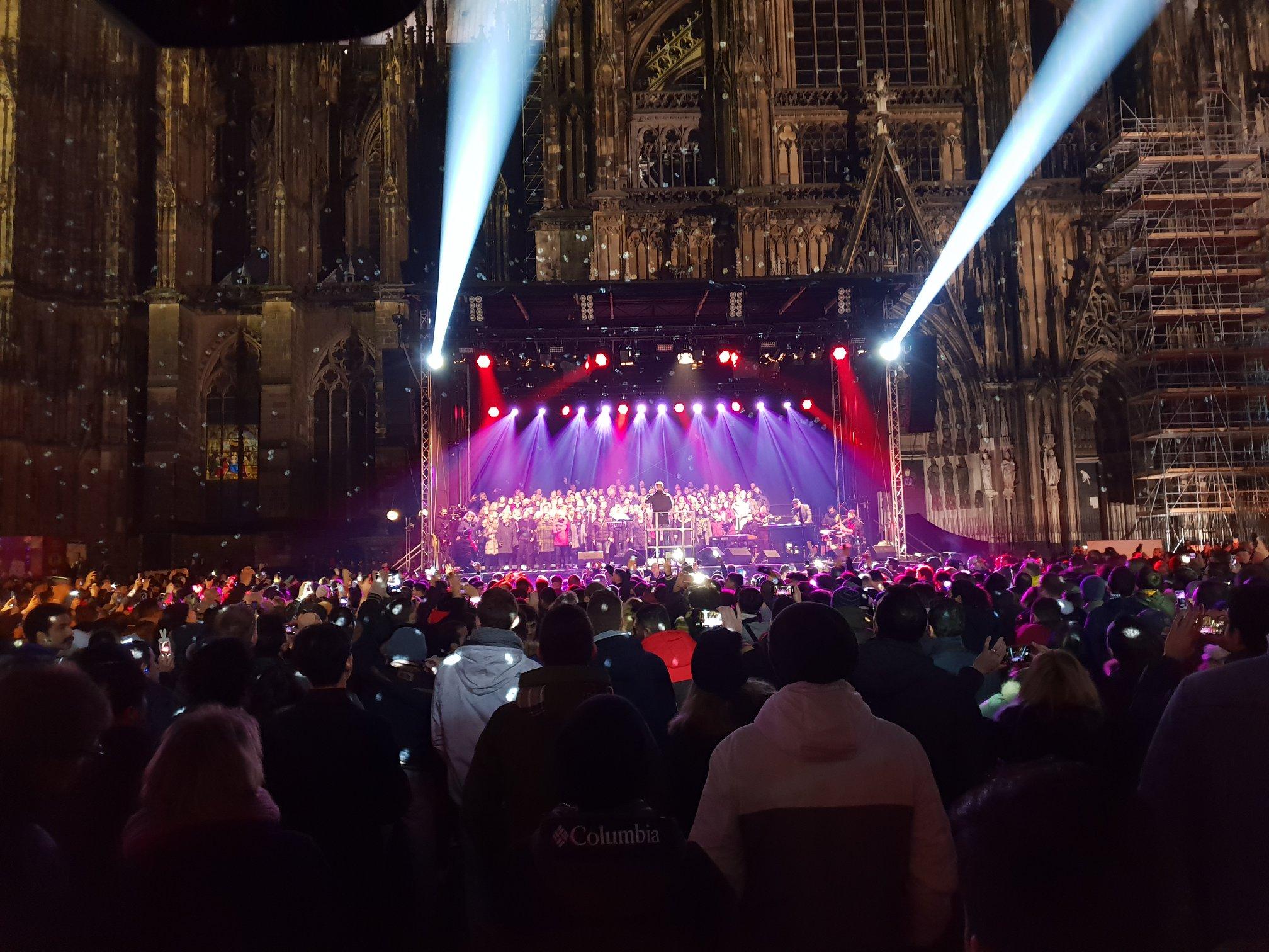 Silvester Köln 2018