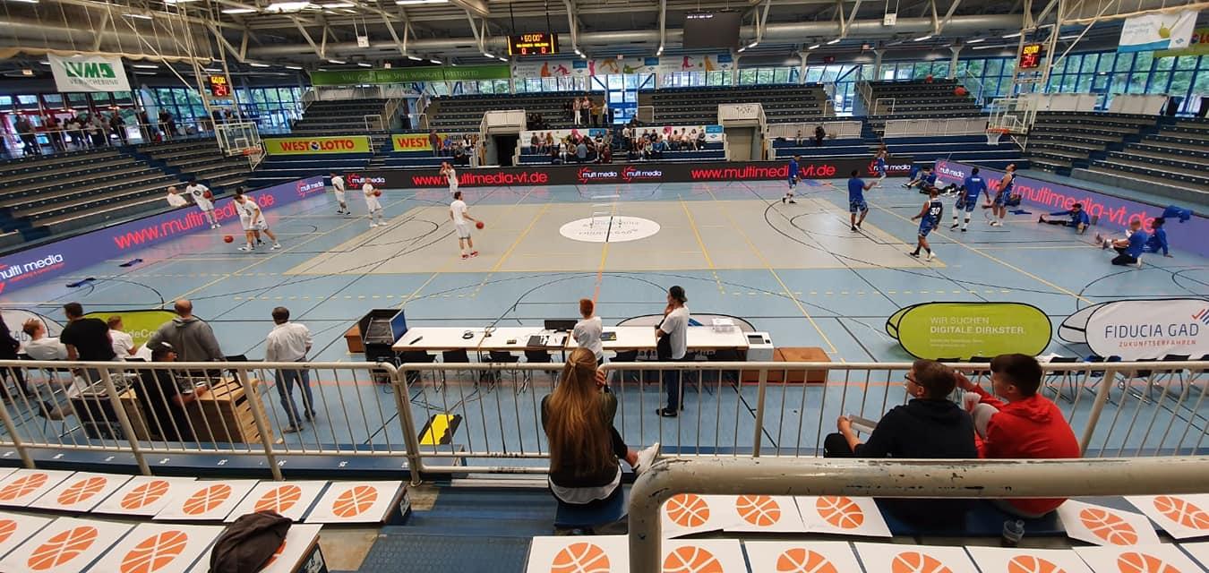 LED Banden WWU Baskets Münster
